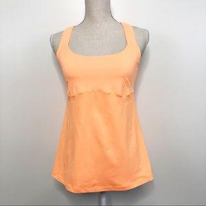 Lululemon Tank Orange size 8